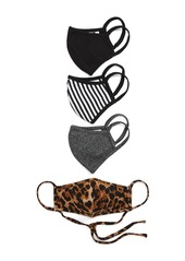 Nordstrom Animal Printed Adult Face Mask - Pack of 4