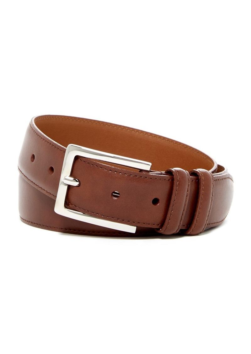 Nordstrom Basic Solid Edge Stitch Leather Belt