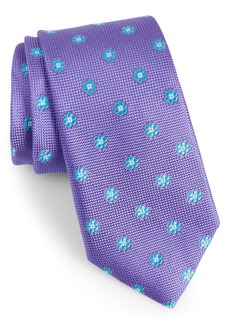Nordstrom Calibrate Cloisters Neat Silk Tie
