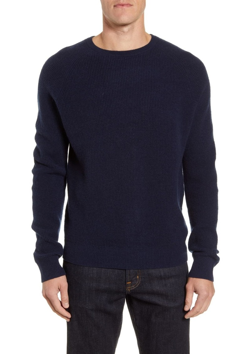 Nordstrom Cashmere Waffle Knit Pullover