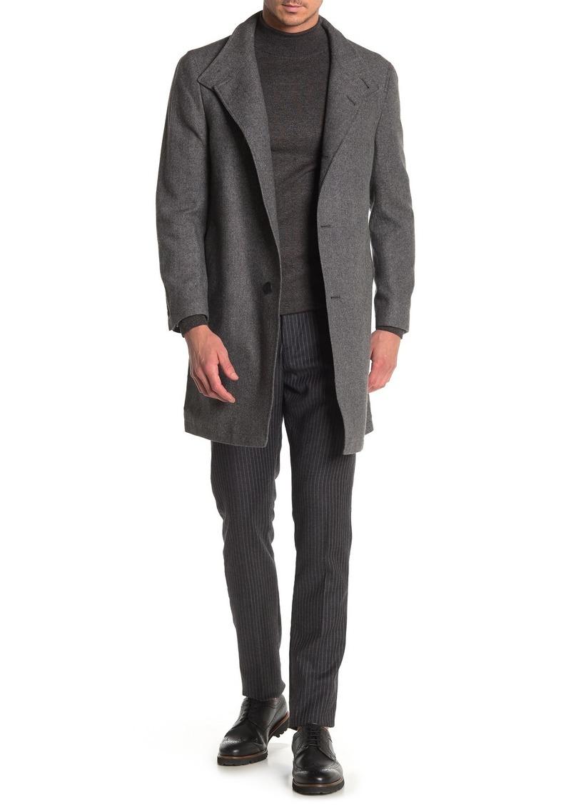 Nordstrom Easton Basketweave Trim Fit Coat