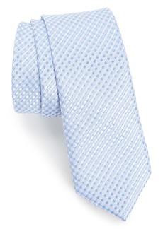 Nordstrom Elkin Check Silk Skinny Tie