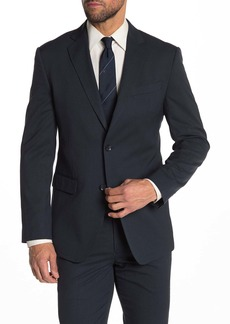 Nordstrom Front Button Pin Dot Trim Suit Separate Jacket