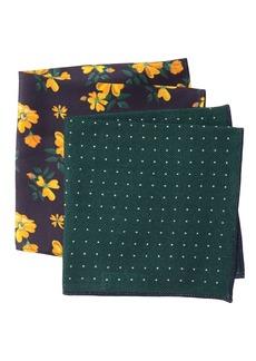 Nordstrom Heith Dot Pocket Squares - Set of 2