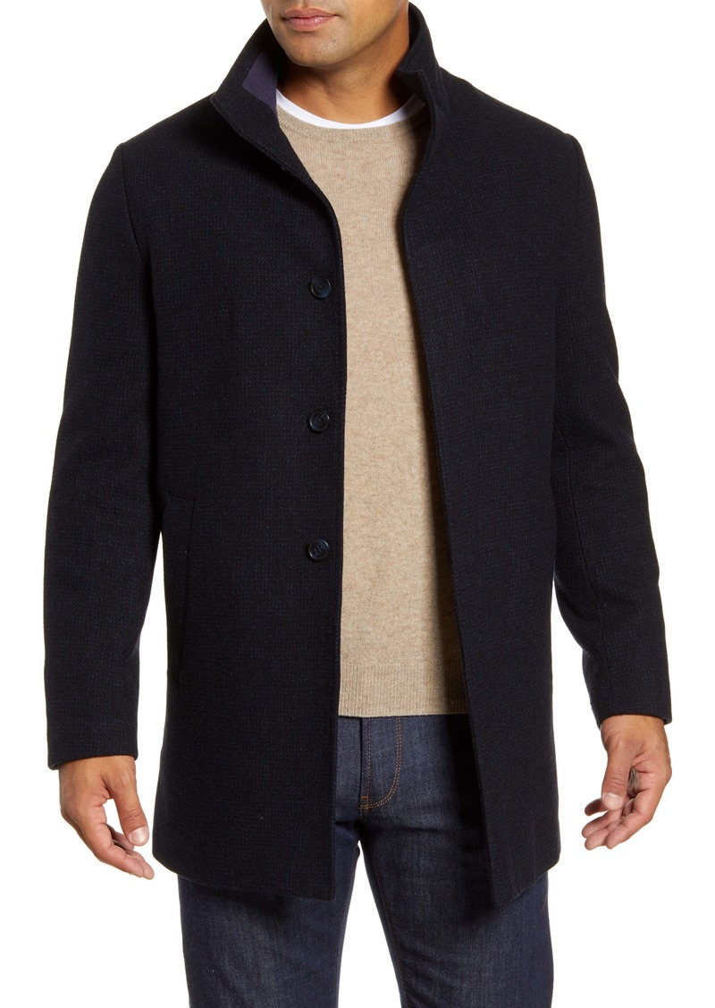 John W. Nordstrom® Lewis Wool Blend Car Coat