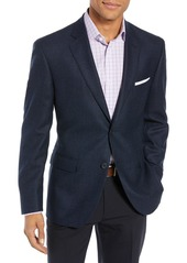 John W. Nordstrom(R) Traditional Fit Houndstooth Wool Blazer
