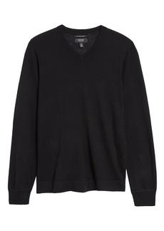 Men's Nordstrom Men's Shop V-Neck Lightweight Cashmere Sweater