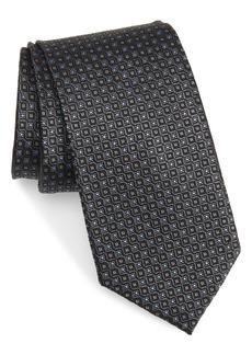 Men's Nordstrom Microgrid Silk Tie