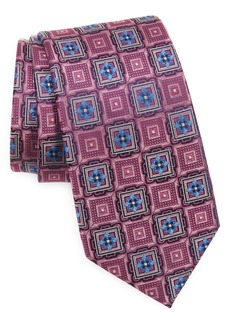 Men's Nordstrom Terry Neat Geometric Silk Tie