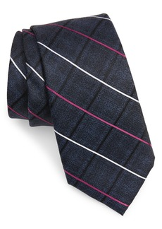 Men's Nordstrom Veilleux Grid Silk Tie