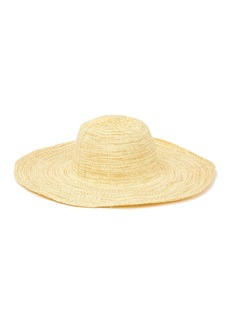 Nordstrom Mixed Weave Floppy Hat