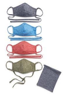 Nordstrom 4-Pack Assorted Adult Face Masks