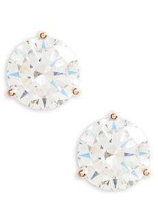 Nordstrom 6ct tw Cubic Zirconia Stud Earrings