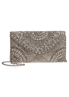 Nordstrom Alhambra Beaded Envelope Clutch