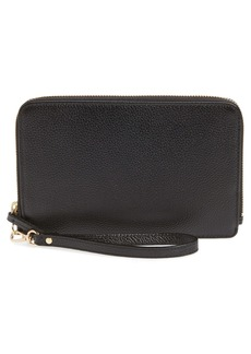 Nordstrom Amal Leather Zip Wallet