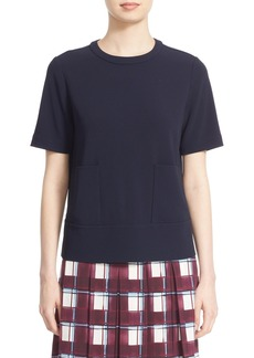 Nordstrom and Caroline Issa Crepe Top