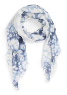 Nordstrom 'Aquarelle' Cashmere & Silk Scarf