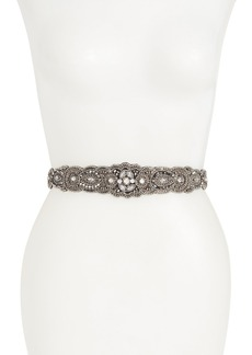 Nordstrom Arabesque Beaded Stretch Belt