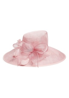 Nordstrom Asymmetrical Sinamay Derby Hat