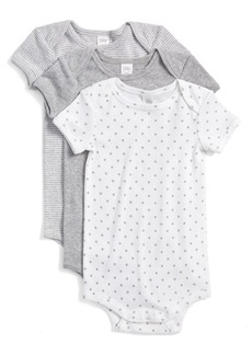 Nordstrom Baby Cotton Bodysuits (3-Pack) (Baby)
