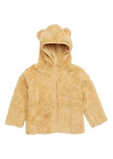 Nordstrom Baby Cozy Bear Hoodie Jacket (Baby Boys)
