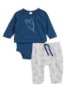 Nordstrom Baby Graphic Print Bodysuit & Jogger Pants (Baby)