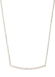 Nordstrom Baguette Bar Pendant Necklace