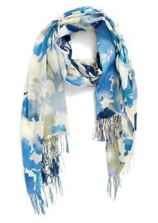 Nordstrom Bouquet Romantique Wool & Cashmere Scarf