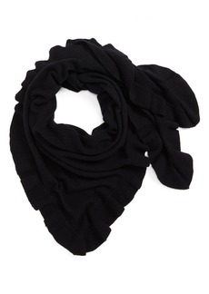 Nordstrom Cashmere Ruffle Triangle Wrap