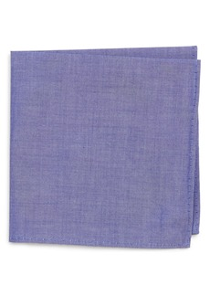 Nordstrom Chambray Pocket Square (Big Boys)