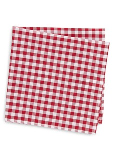 Nordstrom Check Pocket Square (Big Boys)