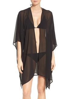 Nordstrom Chiffon Cover-Up Kimono