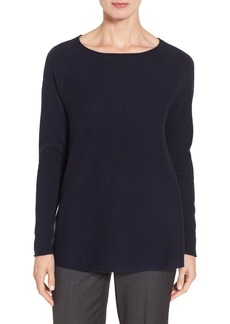 Nordstrom Collection Cashmere A-Line Pullover