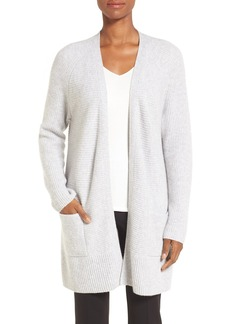 Nordstrom Collection Cashmere Open Front Cardigan