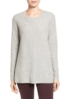 Nordstrom Collection Chevron Cashmere Sweater