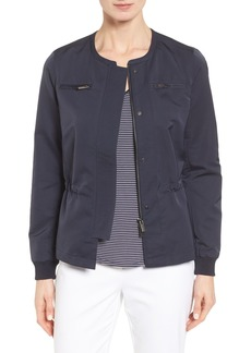 Nordstrom Collection Cinched Waist Jacket