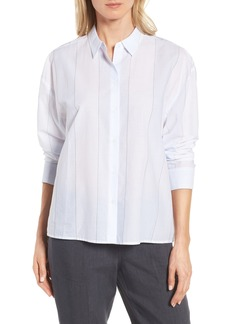 Nordstrom Collection Cotton Stripe Shirt