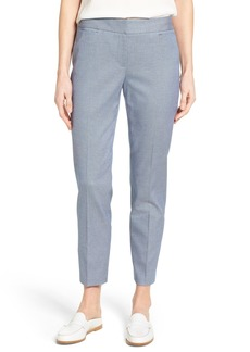 Nordstrom Collection Crop Slim Leg Pants