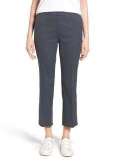 Nordstrom Collection Dot Crop Flare Leg Pants