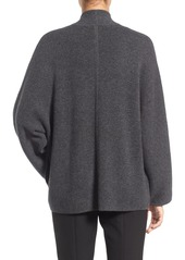 Nordstrom Collection Double Knit Cashmere Blend Open Front Cardigan