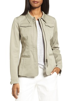 Nordstrom Collection Fitted Field Jacket