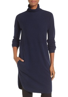 Nordstrom Collection Funnel Neck Cashmere Tunic