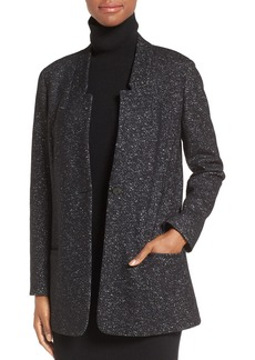 Nordstrom Collection Galassia Tweed Knit Jacket