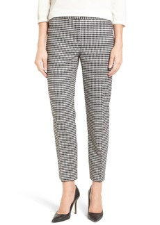 Nordstrom Collection Gingham Ankle Pants
