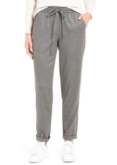 Nordstrom Collection Greta Flannel Drawstring Pants