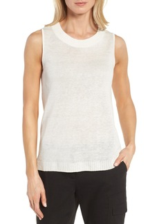 Nordstrom Collection Linen & Silk Shell
