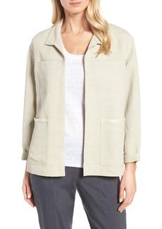 Nordstrom Collection Linen Blend Jacket