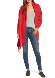 Nordstrom Collection Oversize Cashmere Wrap
