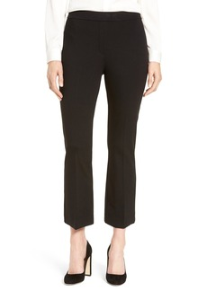 Nordstrom Collection Ponte Crop Flare Leg Pants