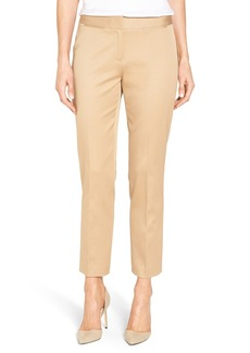 Nordstrom Collection Sateen Twill Ankle Pants
